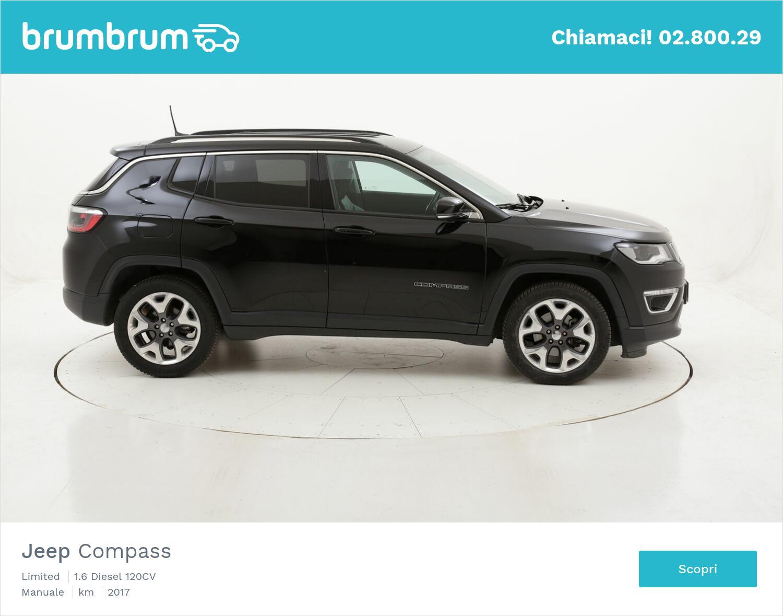 Jeep Compass Limited usata del 2017 con 69.463 km | brumbrum