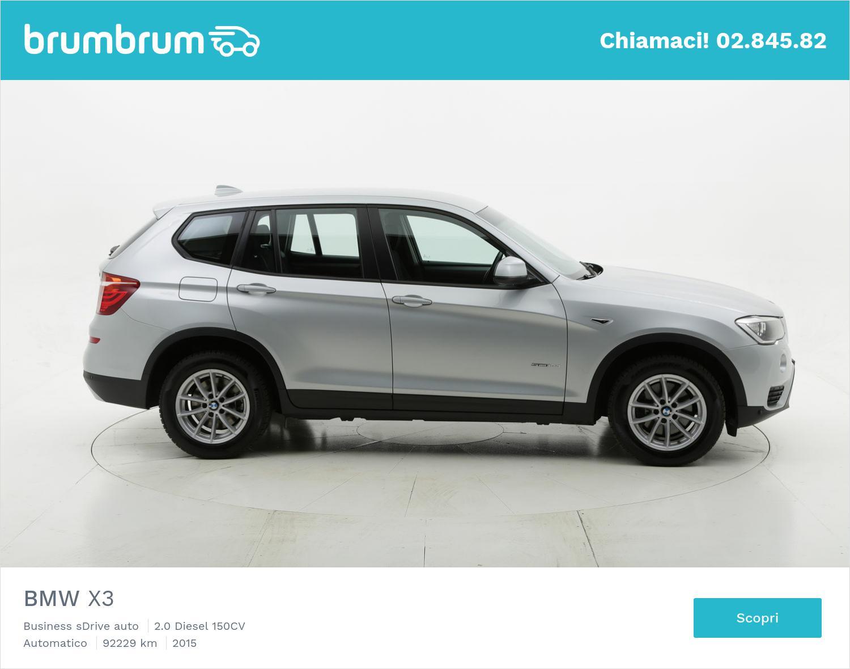BMW X3 usata del 2015 con 92.314 km | brumbrum