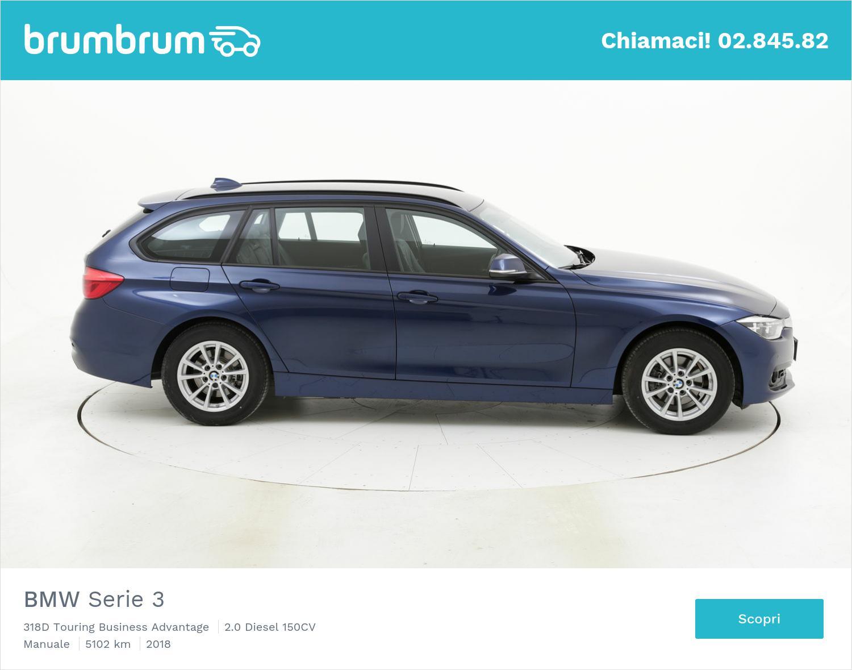 BMW Serie 3 usata del 2018 con 5.270 km   brumbrum
