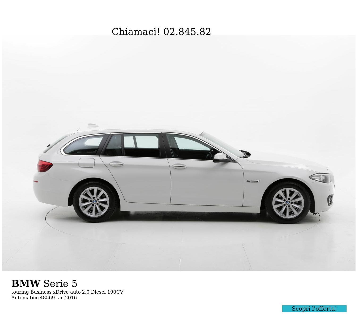 BMW Serie 5 usata del 2016 con 48.755 km | brumbrum