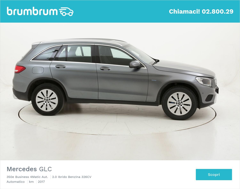 Mercedes GLC 350e Business 4Matic Aut. usata del 2017 con 71.299 km | brumbrum