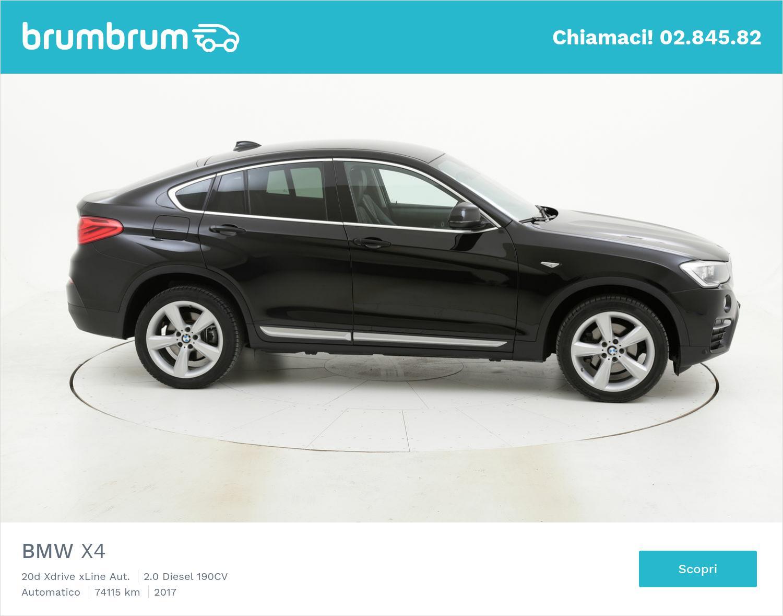 BMW X4 usata del 2017 con 74.187 km | brumbrum