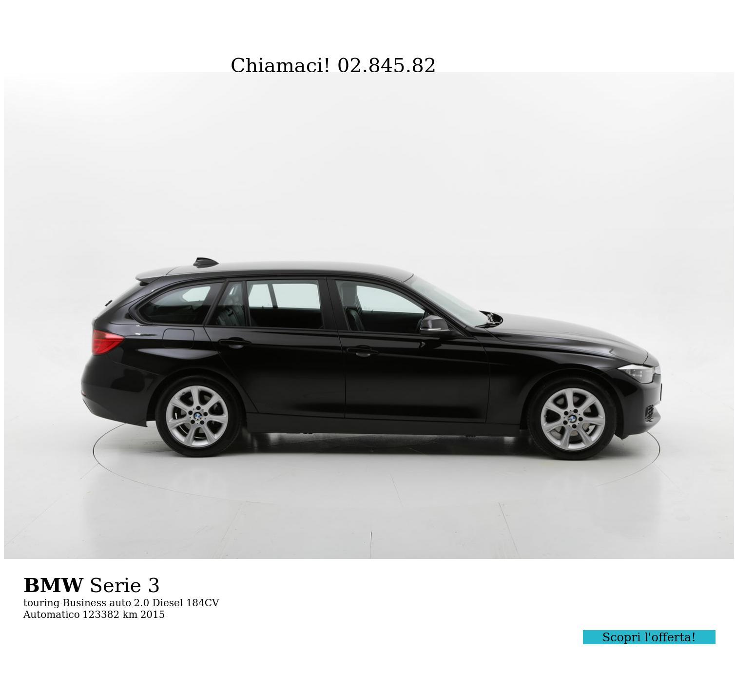 BMW Serie 3 usata del 2015 con 123.959 km | brumbrum
