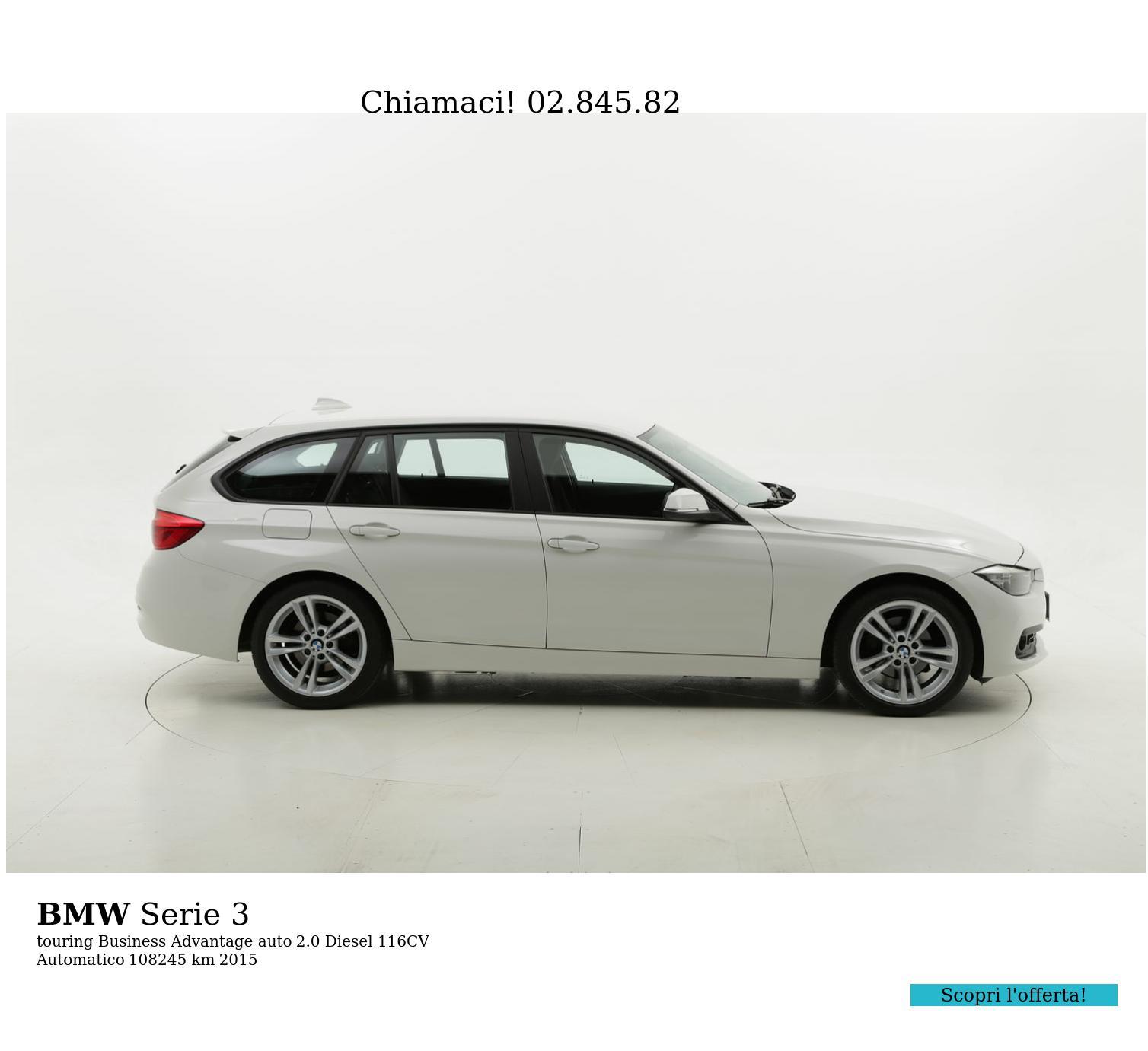 BMW Serie 3 usata del 2015 con 108.316 km | brumbrum