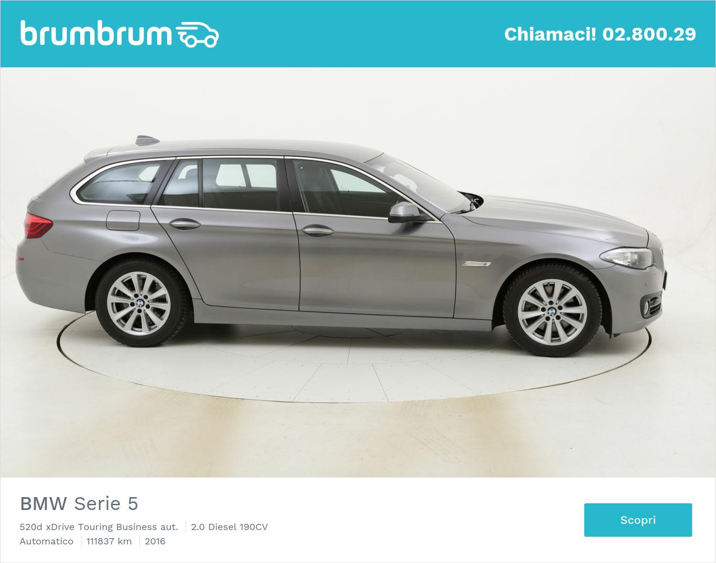 BMW Serie 5 520d xDrive Touring Business aut. usata del 2016 con 111.878 km | brumbrum