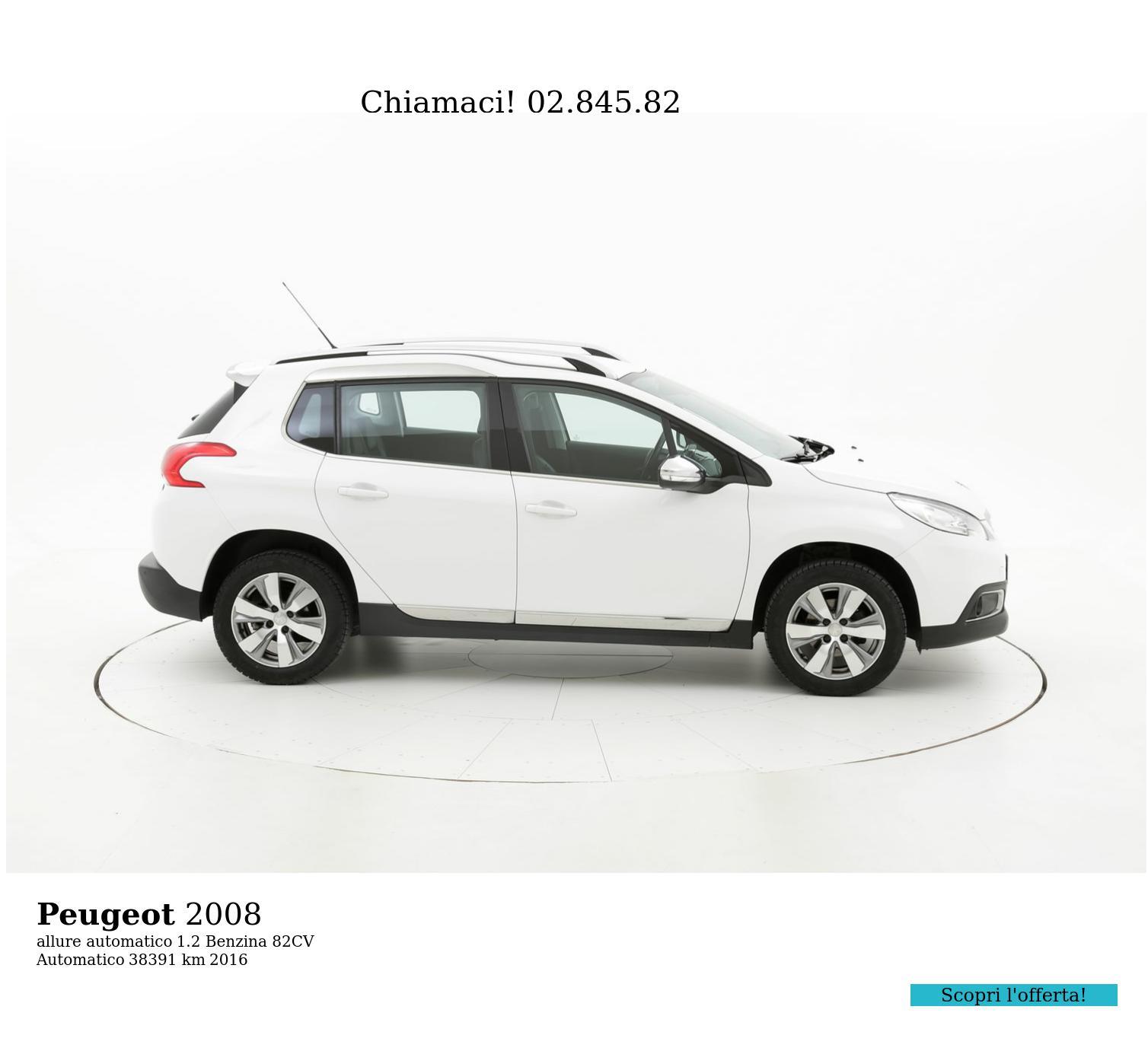Peugeot 2008 usata del 2016 con 38.711 km   brumbrum