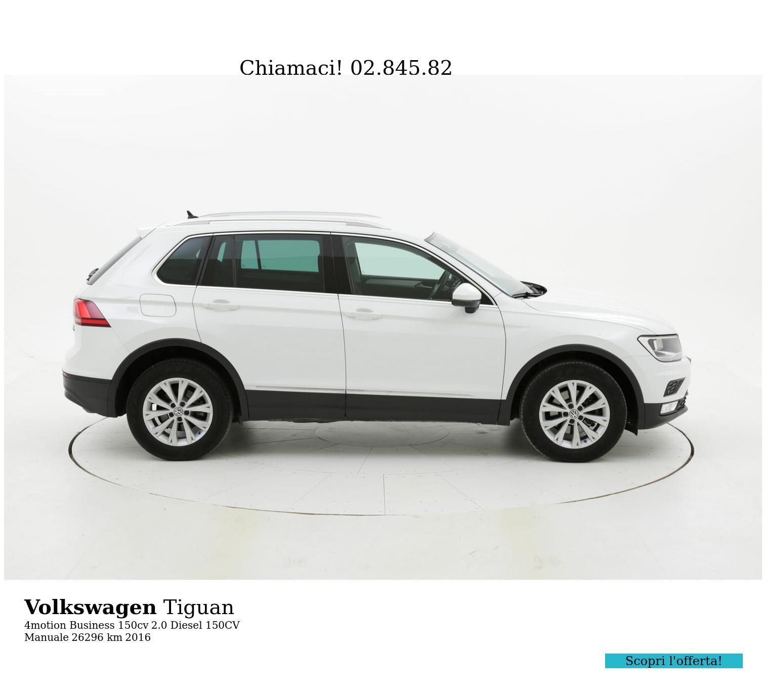 Volkswagen Tiguan usata del 2016 con 26.772 km | brumbrum