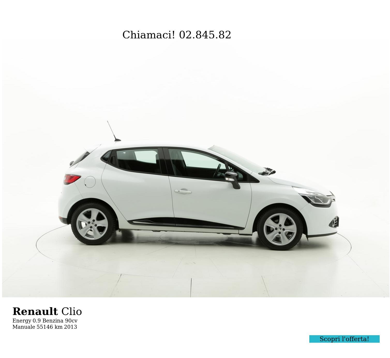 Renault Clio usata del 2013 con 55.252 km | brumbrum