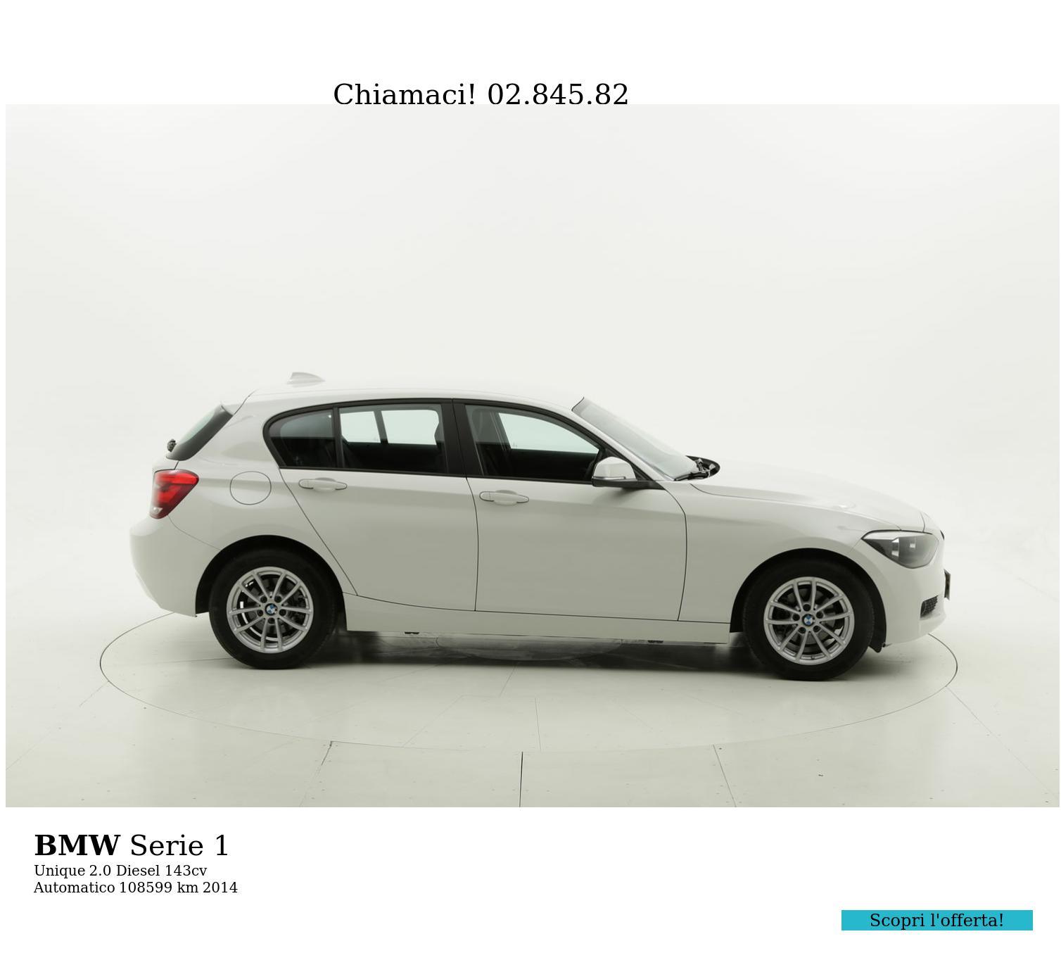BMW Serie 1 usata del 2014 con 108.641 km | brumbrum