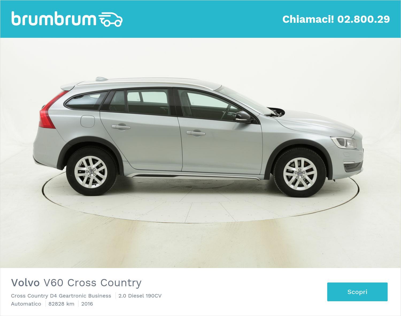 Volvo V60 Cross Country usata del 2016 con 82.880 km   brumbrum