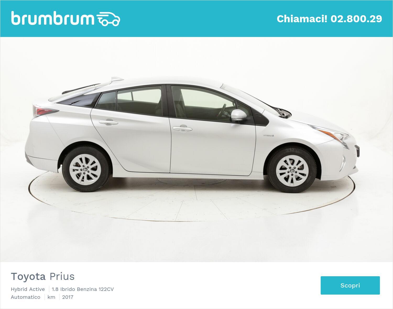 Toyota Prius Hybrid Active usata del 2017 con 55.951 km   brumbrum