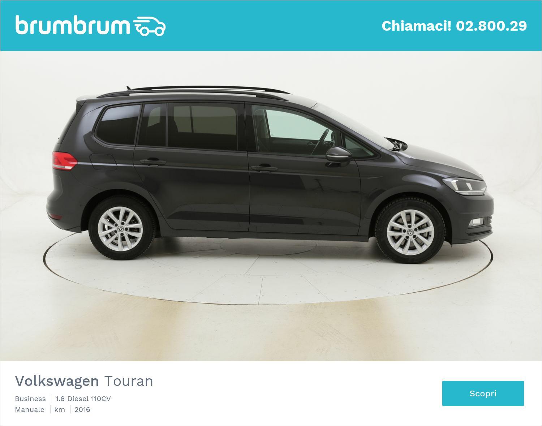 Volkswagen Touran Business usata del 2016 con 84.116 km   brumbrum
