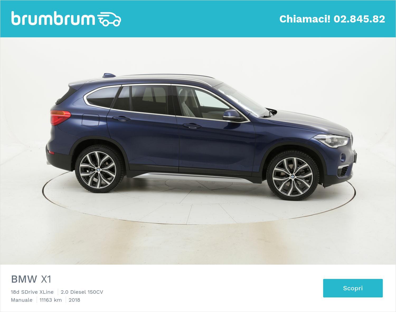 BMW X1 usata del 2018 con 11.213 km | brumbrum