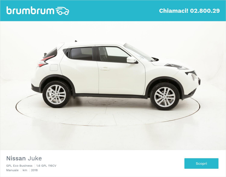 Nissan Juke GPL Eco Business usata del 2018 con 23.174 km   brumbrum