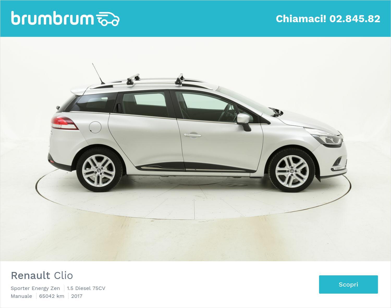 Renault Clio usata del 2017 con 65.080 km | brumbrum