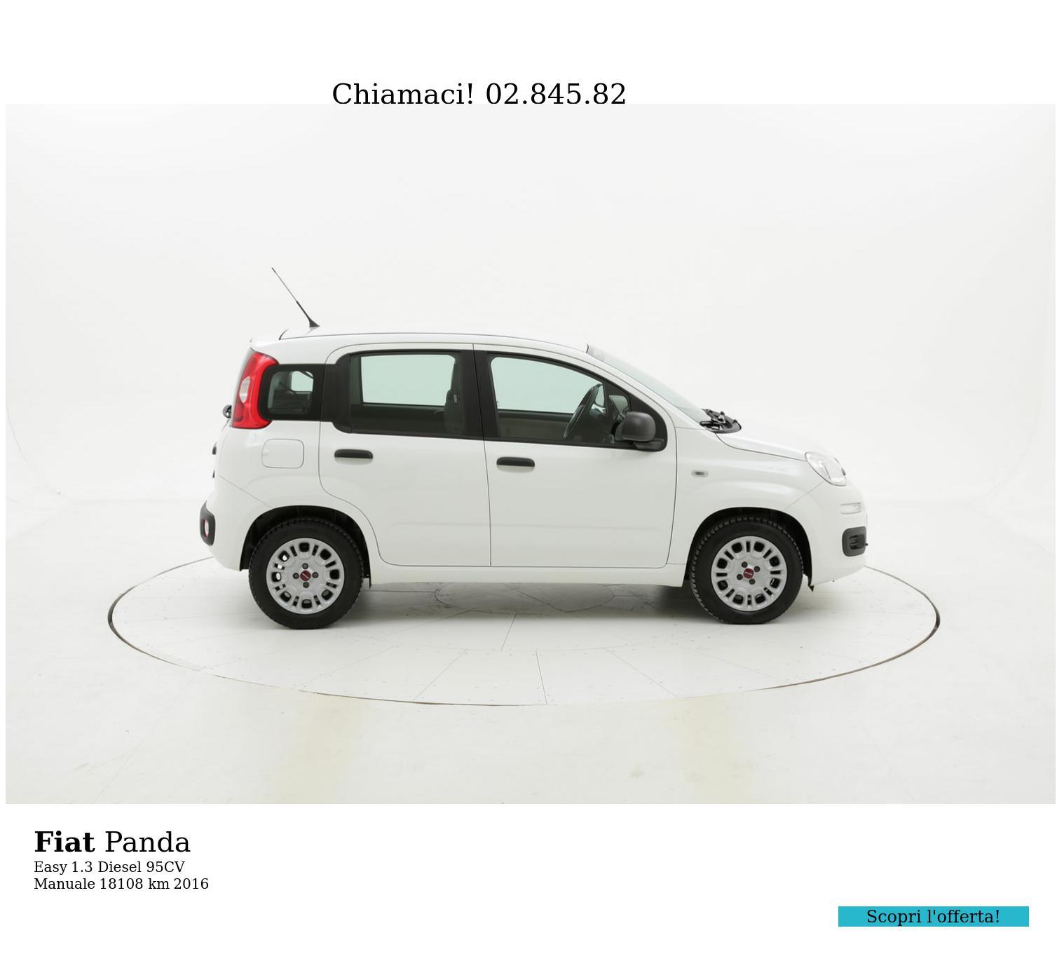 Fiat Panda usata del 2016 con 18.745 km | brumbrum