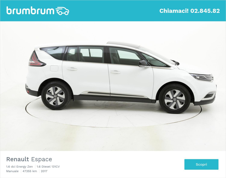 Renault Espace usata del 2017 con 47.596 km | brumbrum