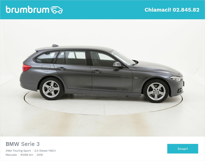 BMW Serie 3 usata del 2016 con 91.361 km | brumbrum