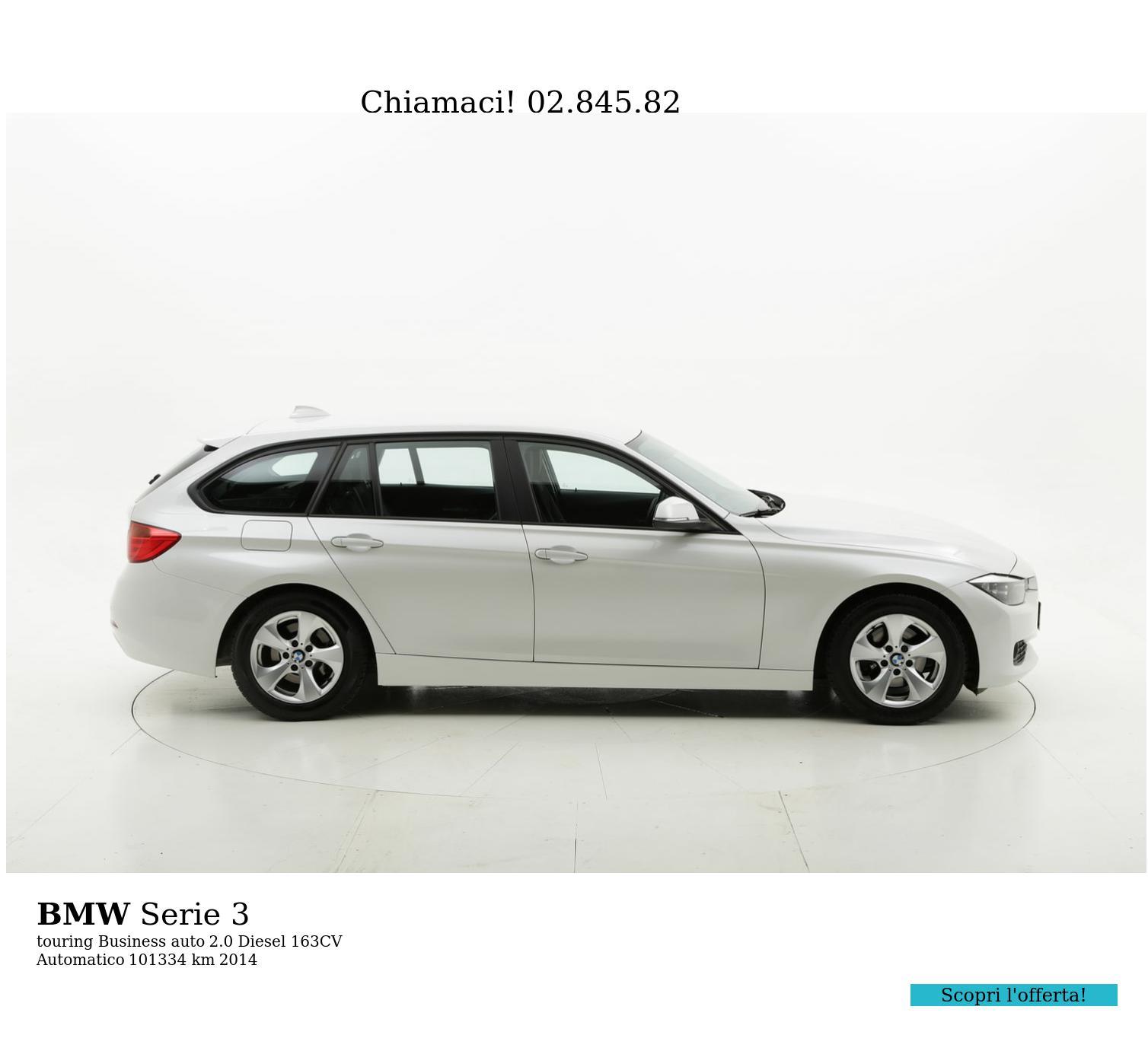 BMW Serie 3 usata del 2014 con 101.449 km | brumbrum