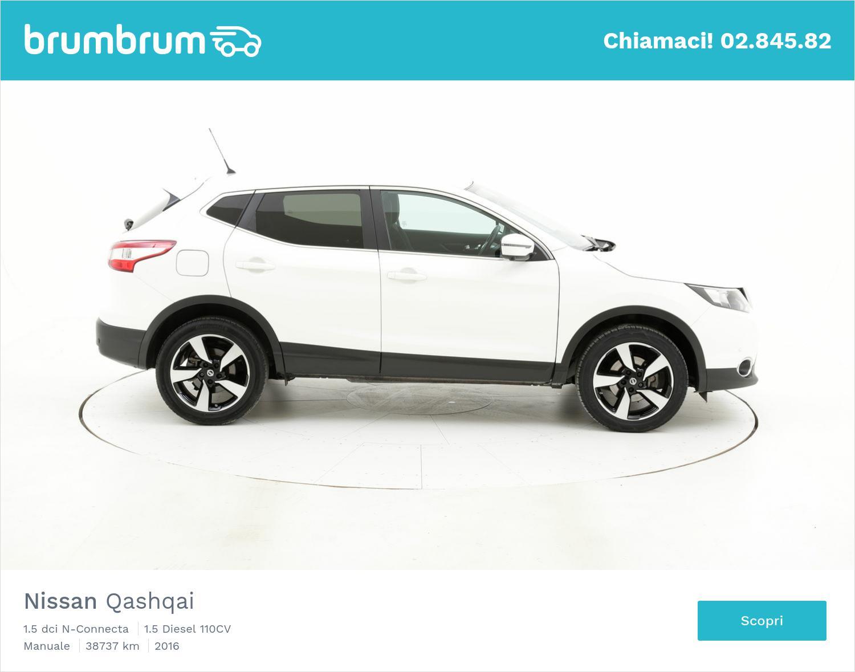 Nissan Qashqai usata del 2016 con 38.799 km   brumbrum