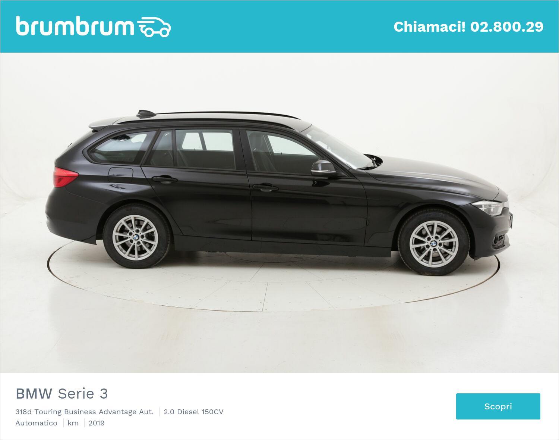 BMW Serie 3 318d Touring Business Advantage Aut. usata del 2019 con 82.804 km   brumbrum