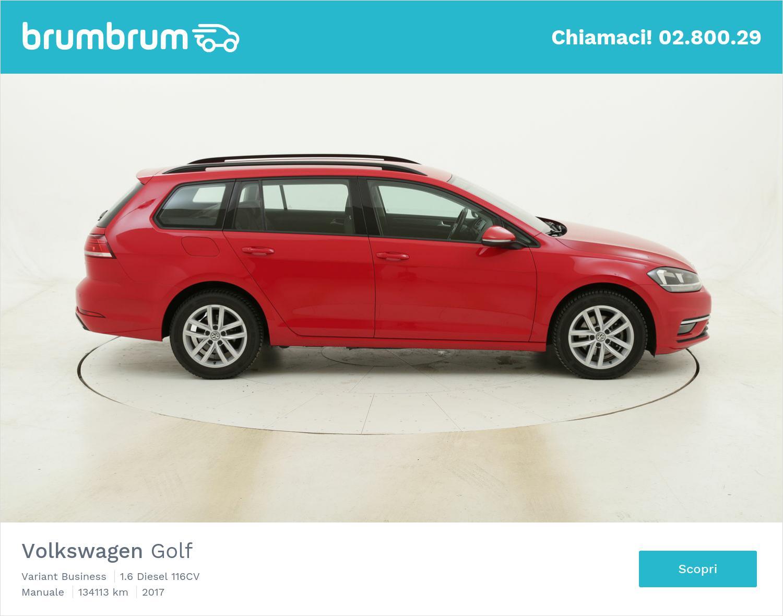 Volkswagen Golf Variant Business usata del 2017 con 134.205 km | brumbrum