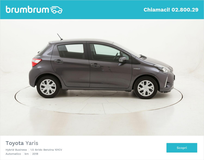 Toyota Yaris Hybrid Business usata del 2018 con 30.728 km   brumbrum