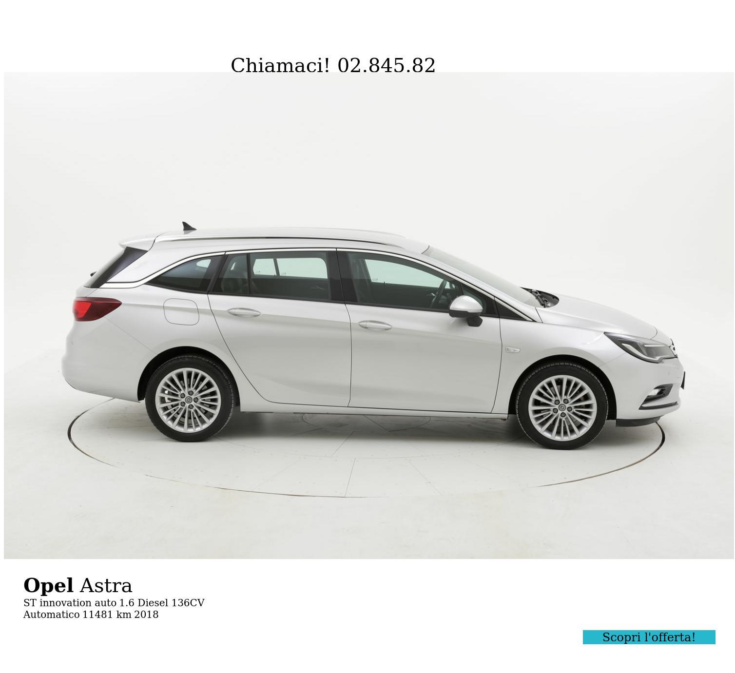 Opel Astra usata del 2018 con 11.677 km | brumbrum