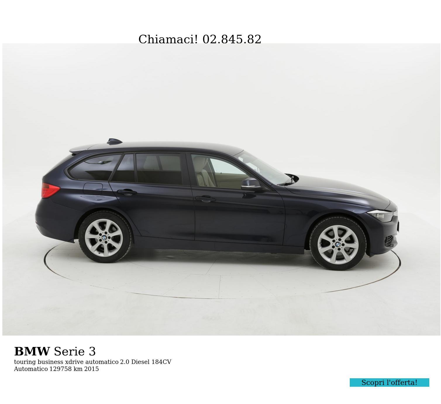 BMW Serie 3 usata del 2015 con 130.336 km | brumbrum