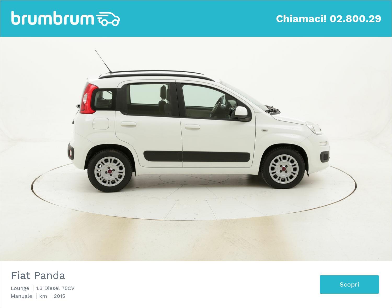Fiat Panda Lounge usata del 2015 con 61.767 km | brumbrum