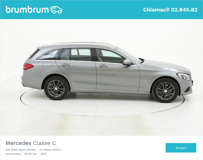 Mercedes Classe C usata del 2015 con 82.311 km | brumbrum