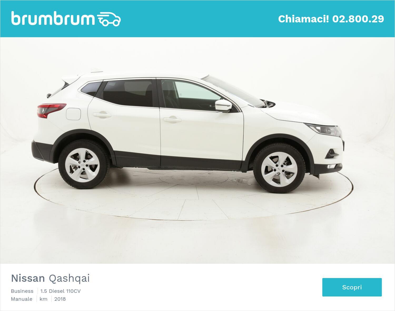 Nissan Qashqai Business usata del 2018 con 27.596 km   brumbrum