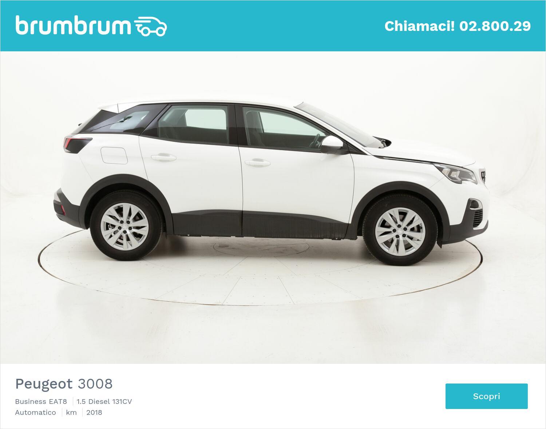 Peugeot 3008 Business EAT8 usata del 2018 con 47.729 km | brumbrum