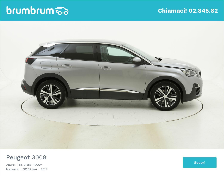 Peugeot 3008 usata del 2017 con 38.580 km | brumbrum