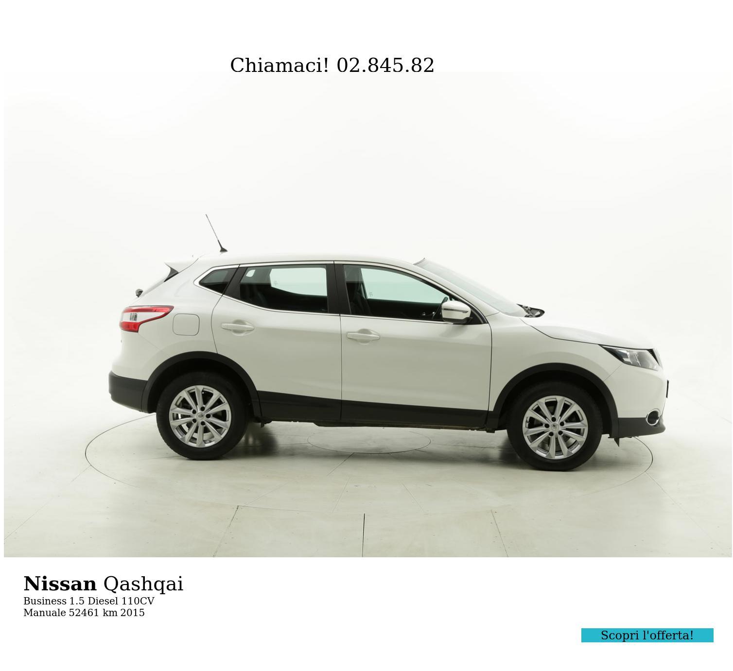 Nissan Qashqai usata del 2015 con 53.037 km | brumbrum
