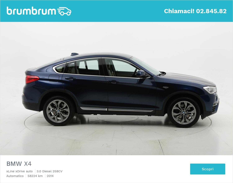 BMW X4 usata del 2014 con 58.482 km | brumbrum