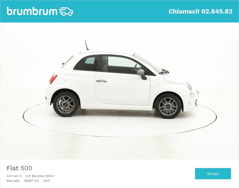 Fiat 500 usata del 2017 con 33.718 km | brumbrum