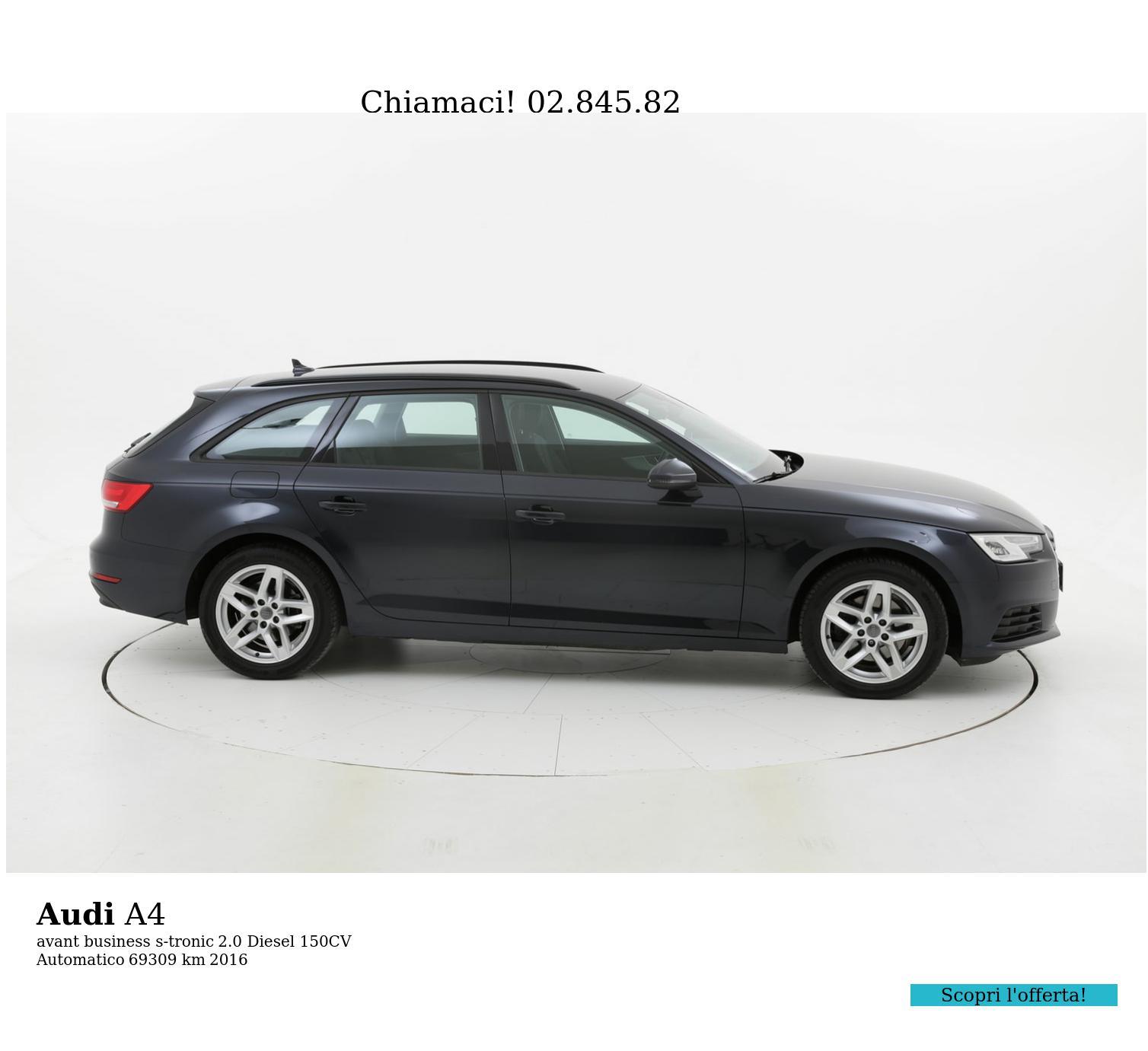 Audi A4 usata del 2016 con 69.395 km | brumbrum
