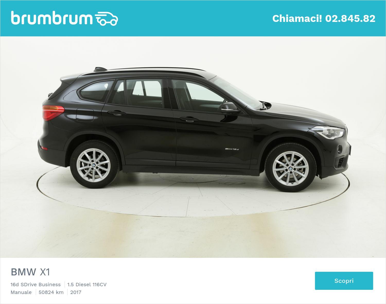 BMW X1 usata del 2017 con 50.879 km | brumbrum