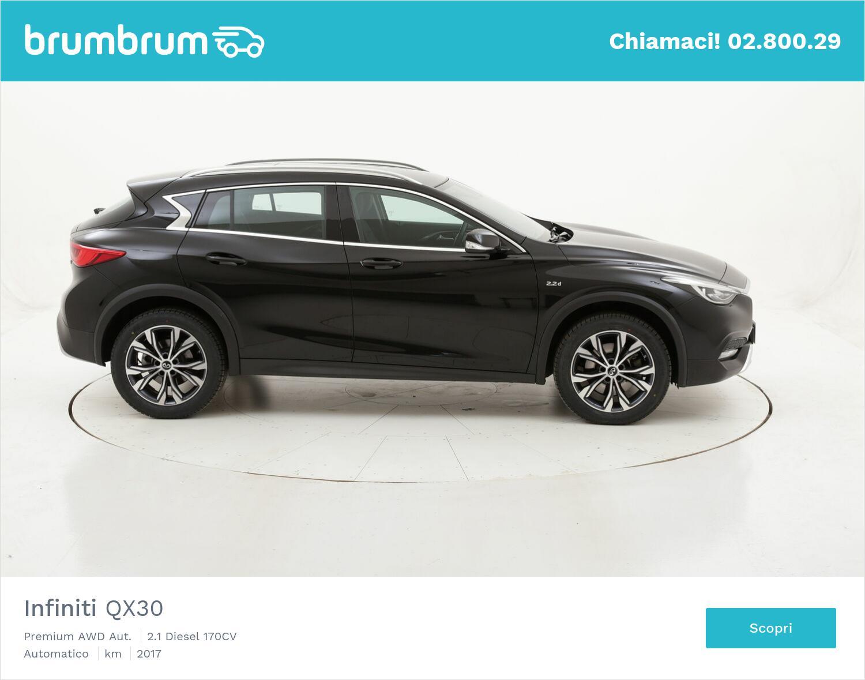 Infiniti QX30 Premium AWD Aut. usata del 2017 con 41.947 km   brumbrum