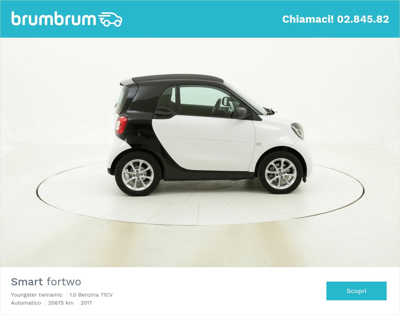 Smart Fortwo usata del 2017 con 25.693 km   brumbrum