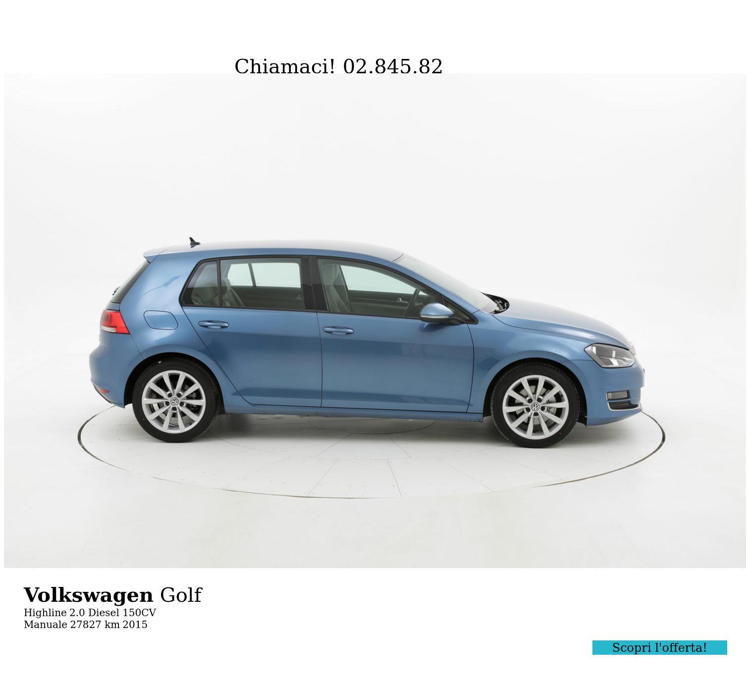 Volkswagen Golf usata del 2015 con 27.892 km | brumbrum