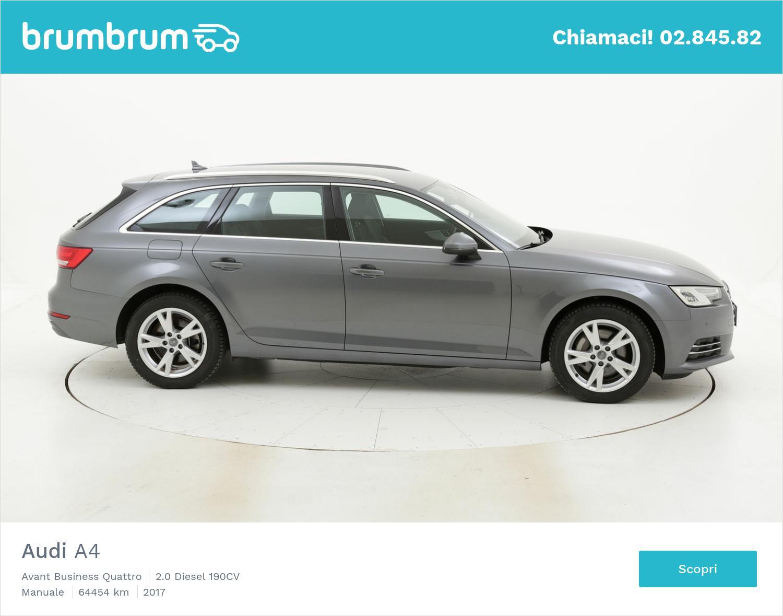 Audi A4 usata del 2017 con 65.032 km | brumbrum