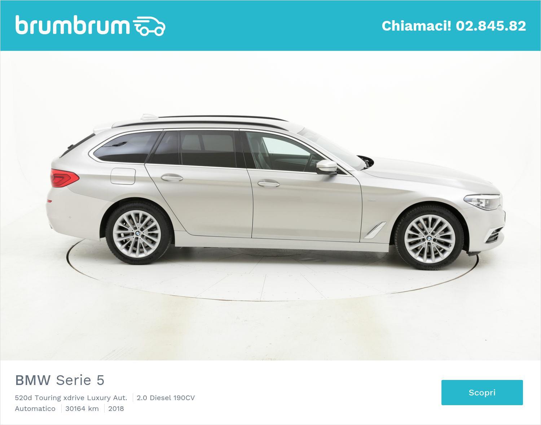 BMW Serie 5 usata del 2018 con 30.239 km | brumbrum