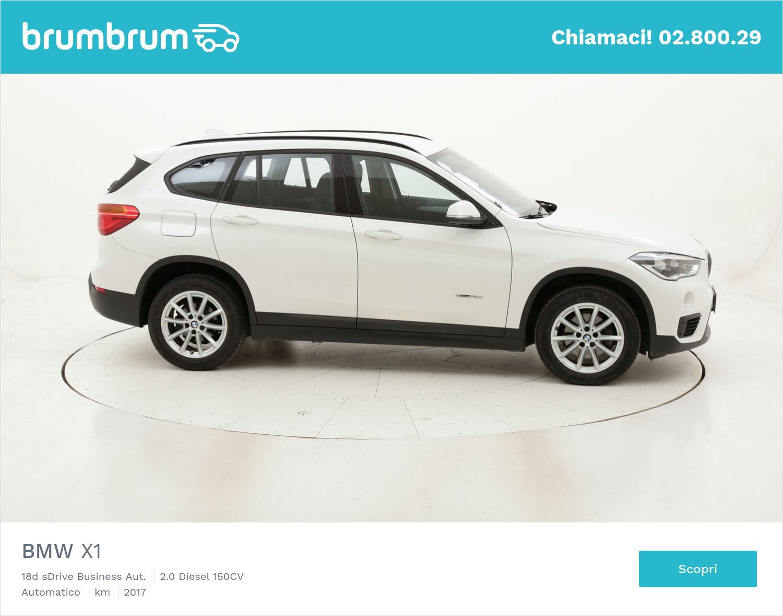 BMW X1 18d sDrive Business Aut. usata del 2017 con 117.885 km   brumbrum