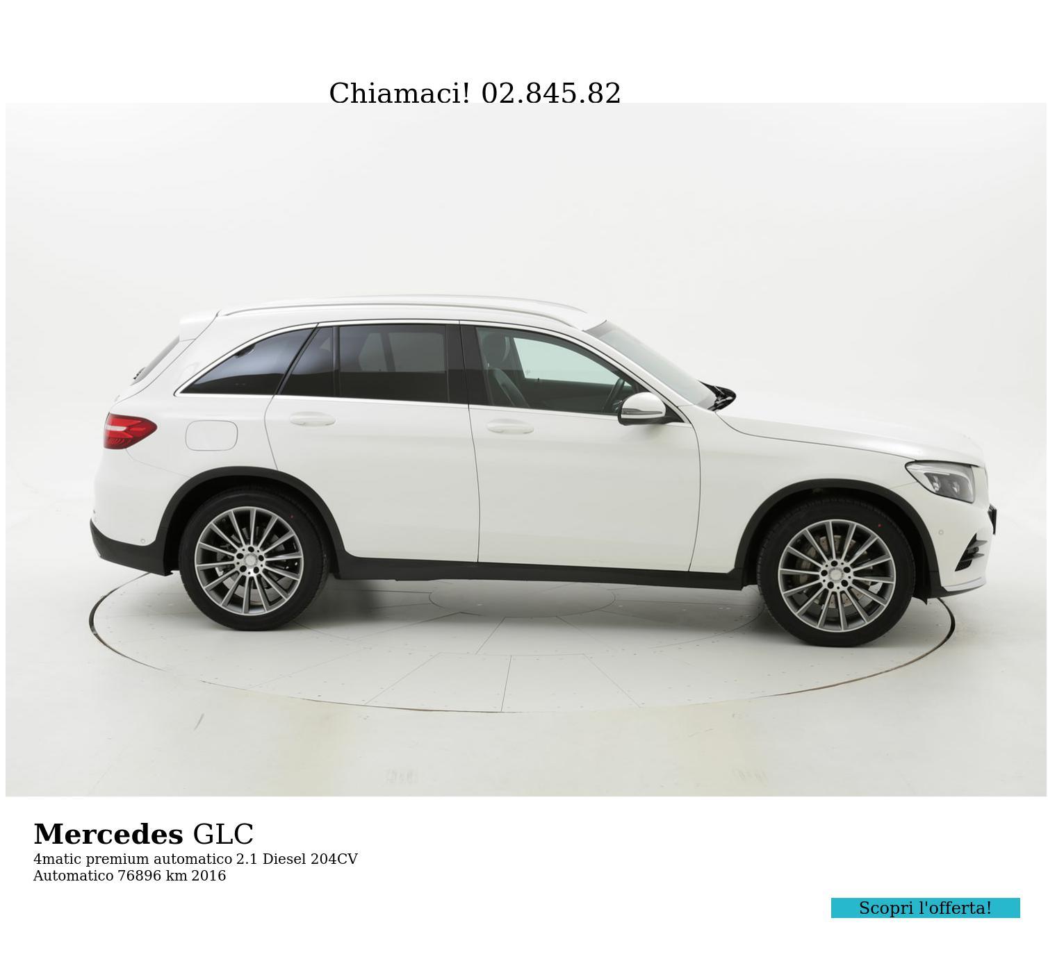 Mercedes GLC usata del 2016 con 77.500 km | brumbrum