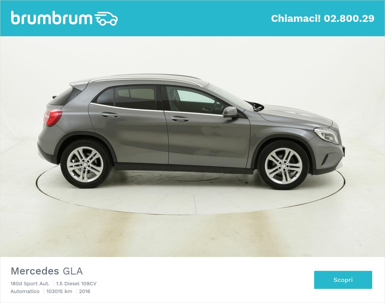 Mercedes GLA 180d Sport Aut. usata del 2016 con 103.136 km   brumbrum