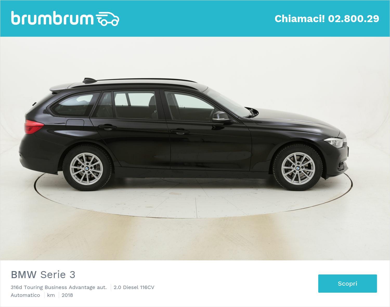BMW Serie 3 316d Touring Business Advantage aut. usata del 2018 con 139.737 km | brumbrum