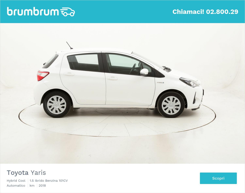 Toyota Yaris Hybrid Cool usata del 2018 con 38.798 km | brumbrum