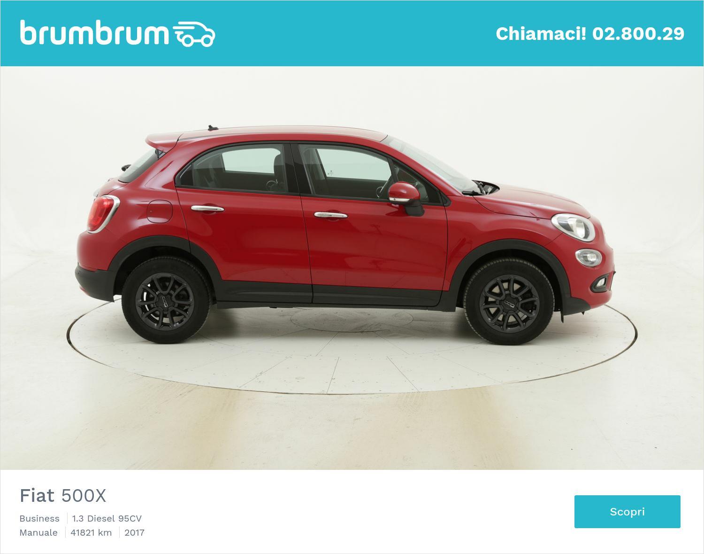 Fiat 500X Business usata del 2017 con 41.897 km   brumbrum